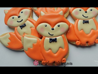 [vk.com/LakomkaVK]  How to Decorate a Cute Fox Cookie