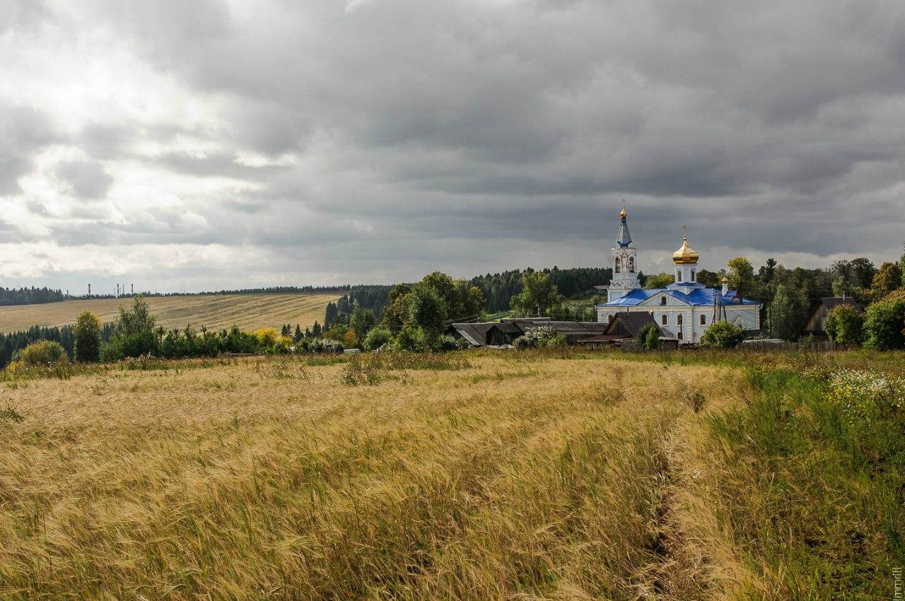 Деревня Бахаревка