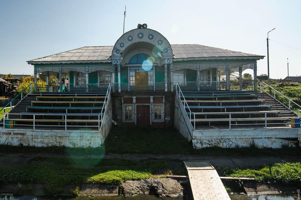 Водная станция в Верхней Туре