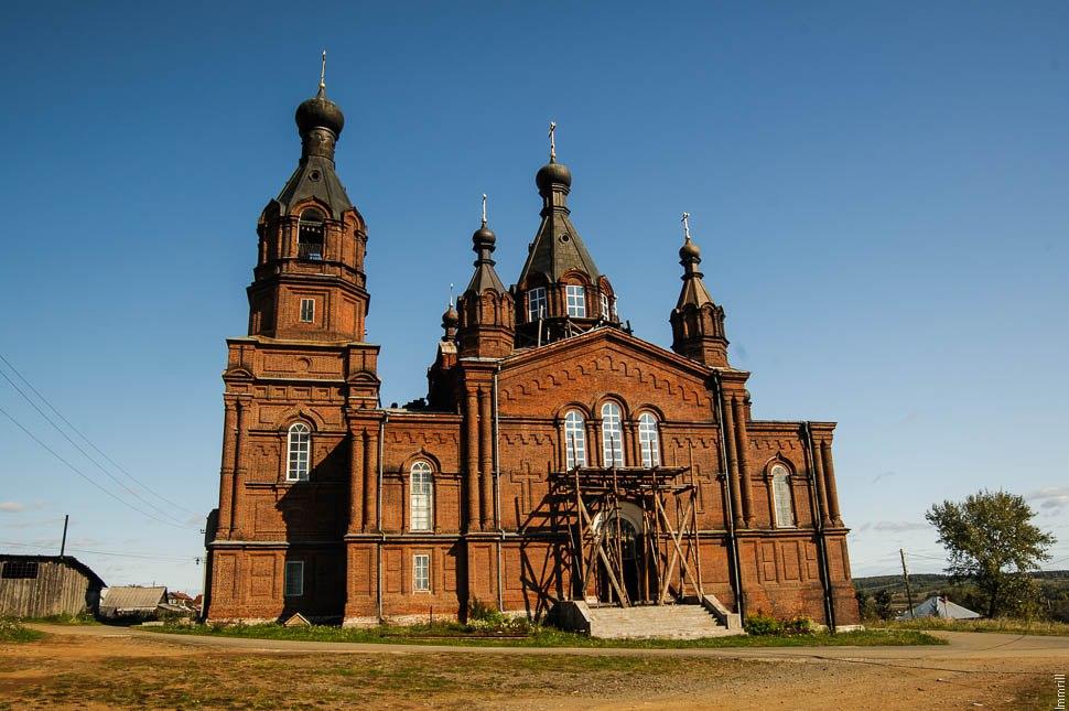 Верхняя Тура. Церковь Александра Невского