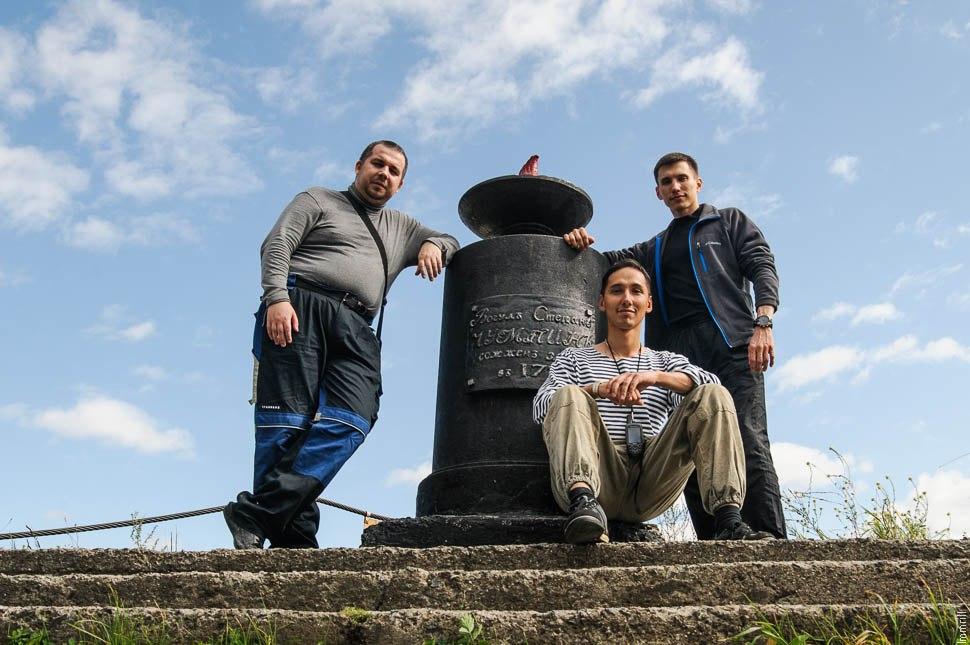 Памятник Чумпину на горе Благодать