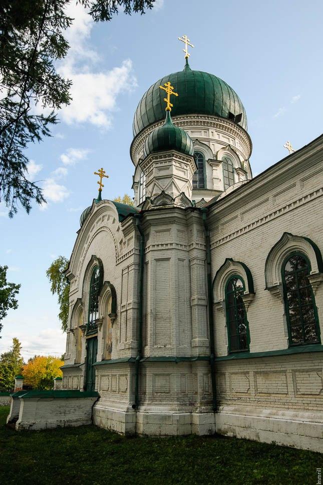 Кушва. Церковь Михаила Архангела