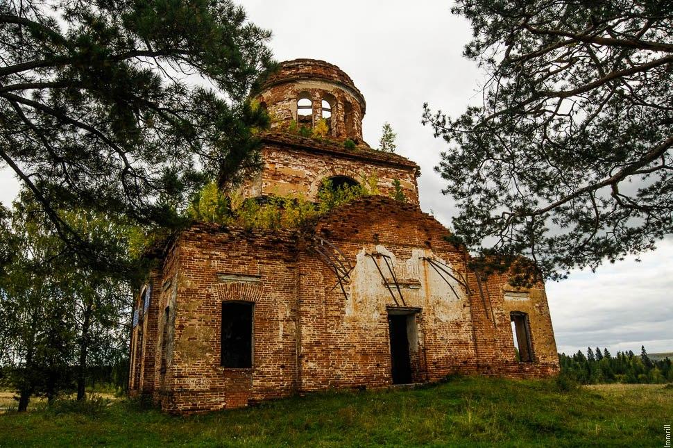 Верхняя Баранча. Церковь Зачатия Иоанна Предтечи