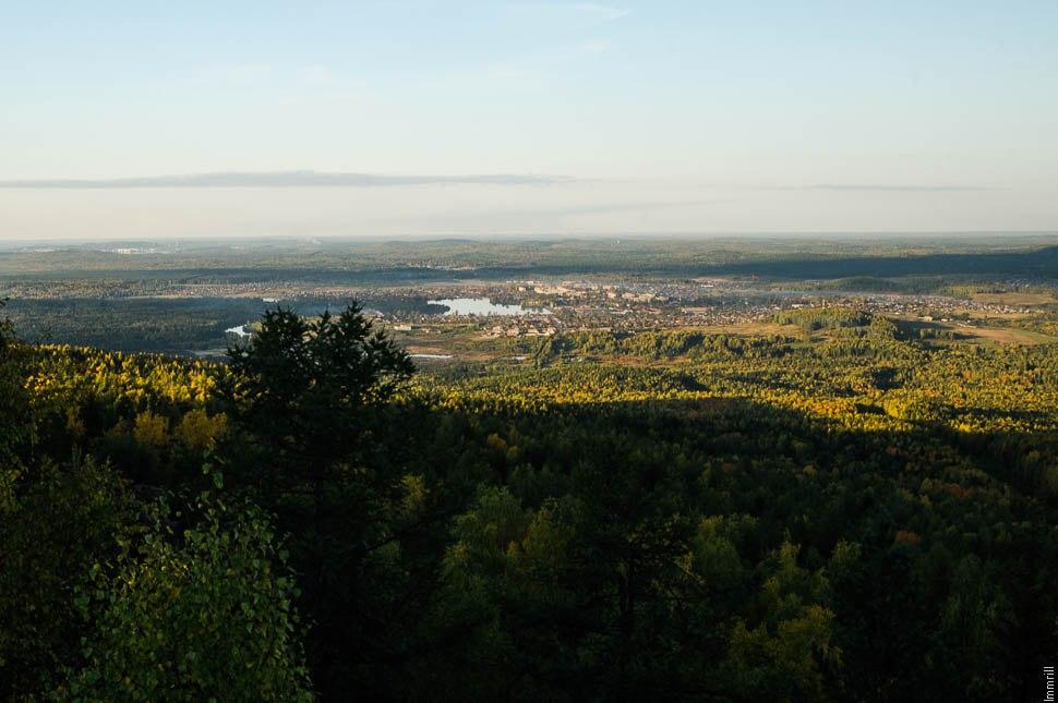 Вид с Синей горы около Баранчинского