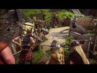 Драконы: Всадники Олуха / Драконы: Защитники Олуха 1 СЕЗОН - 1. Как устроить Школу Драконов