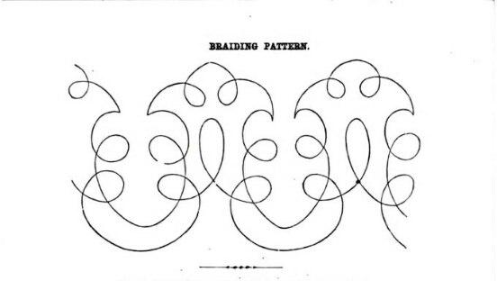 узор для вышивки шнуром