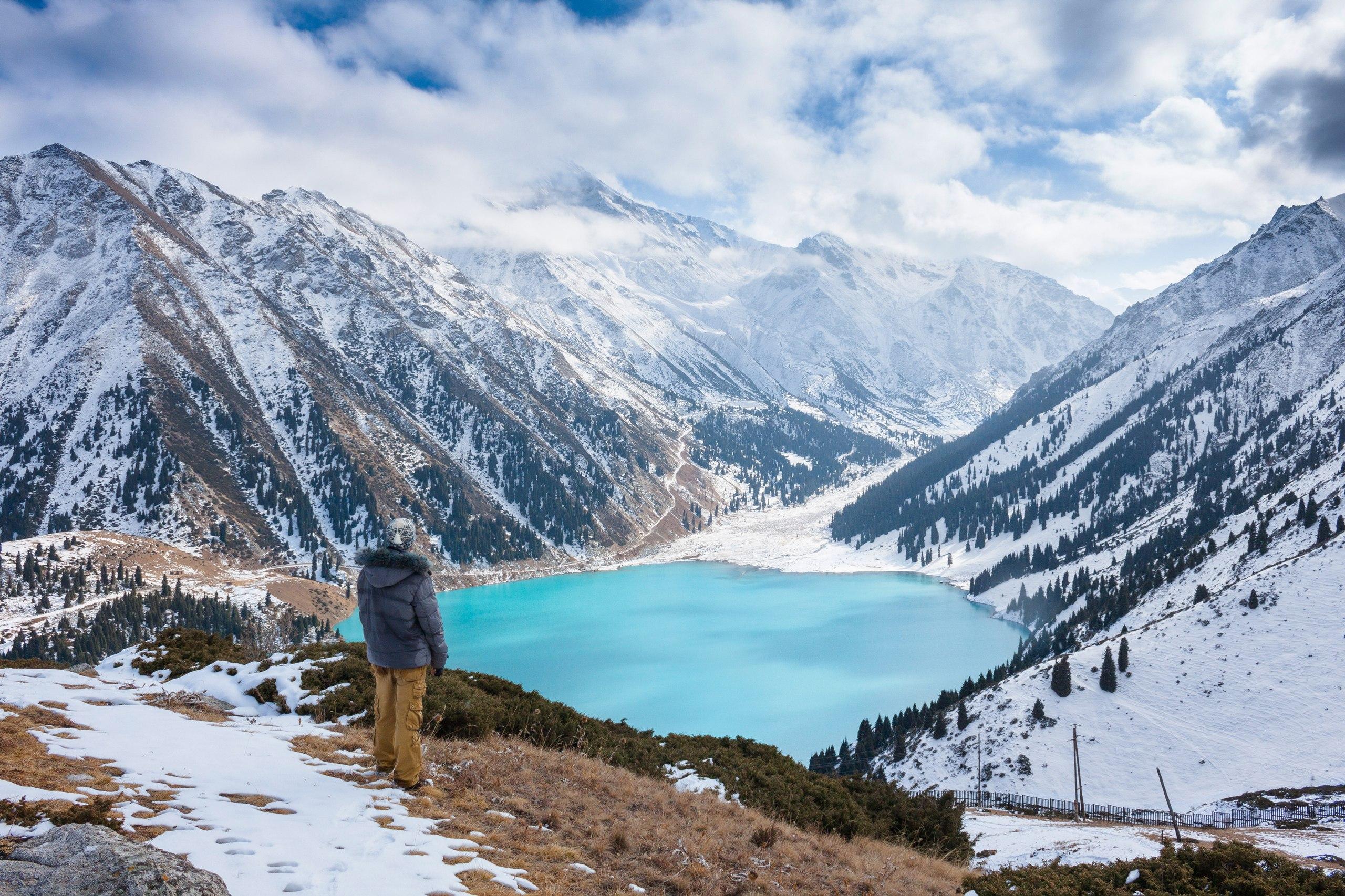 Большое Алматинское озеро (2 509 м)