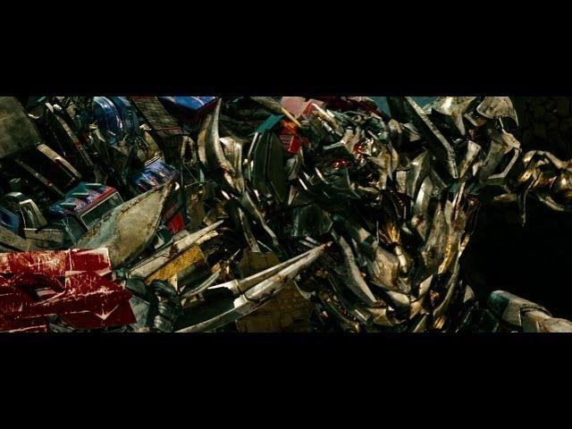 Transformers revenge of the fallen Optimus prime vs The fallen and Megatron (1080pHD VO)