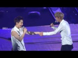 140823 Lucky Xiumin/D.O Focus @ The Lost Planet Singapore