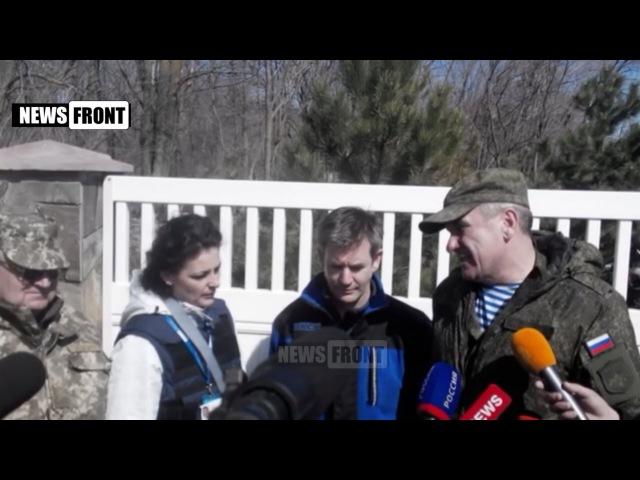 В районе Широкино режим прекращения огня не соблюдался, - генерал-полковник Ленцов