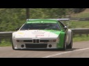 BMW M1 Procar ex-Alan Jones at Hillclimb St-Ursanne - Les Rangiers 2013, driven by Maurice Girard