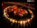 Palm Jumeirah Island Fireworks in Dubai 2014 احتفالات رأس السنة في جزيرة نخلة جم