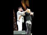 [직캠/FanCAM] 150201 롯데월드 판타지오 아이틴 박민혁(PARK MIN HYUK) Rap Performance