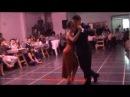 JESICA ARFENONI y ROBERTO ZUCCARINO bailando el tango ESTA NOCHE DE LUNA en FLOREAL MILONGA