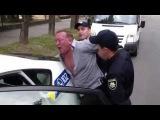 Новая полиция задержала офицера милиции в Киеве. УЖАС.