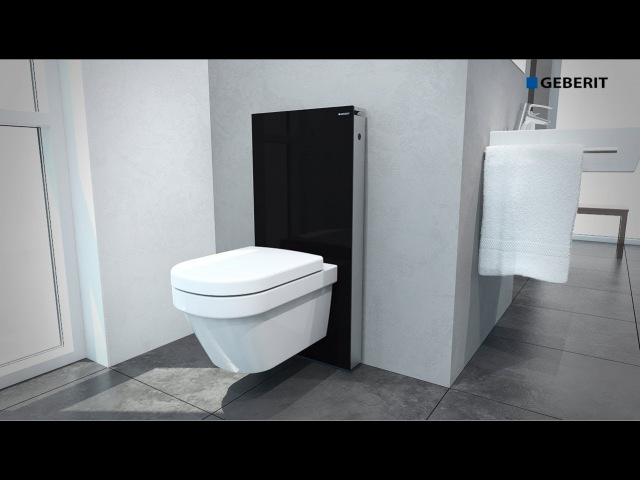Geberit Monolith WC Wall-hung - Installation