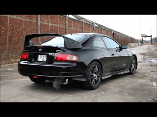 1994 Toyota Celica GT4 GT-FOUR ST205 J-Spec - Exhaust Sound Blitz Nür-Spec decat - Good quality HD
