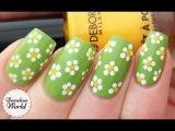Spring Daisies Nail Art Tutorial (for Deborah Milano BeautyClub)