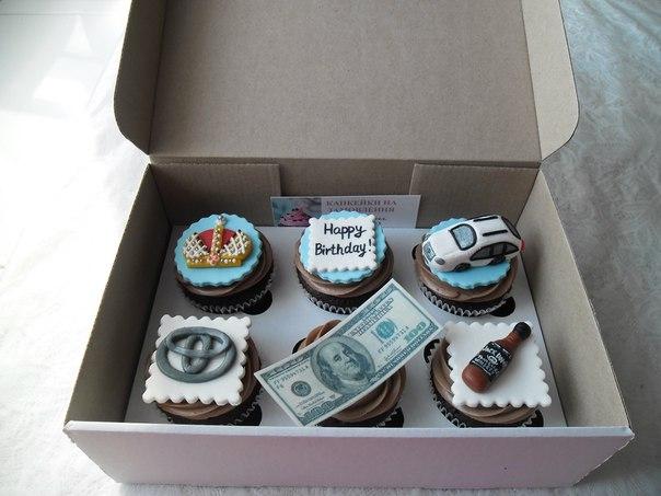 Кекси на день народження