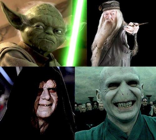 Купить постеры Star Wars и Harrry Potter