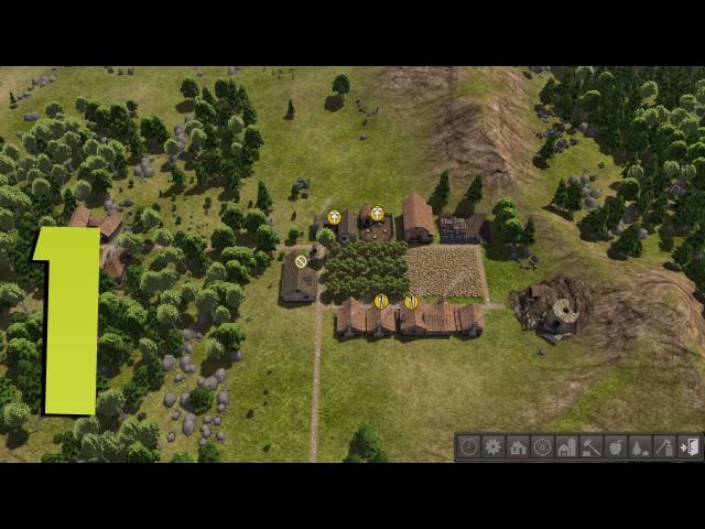 Banished - Прохождение - 1 - Начало строительства » Freewka.com - Смотреть онлайн в хорощем качестве