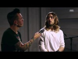 30 Seconds To Mars acoustic City of Angels, Hurricane &amp interview, HD (live at Radio Nova)