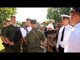 Принятие военной присяги в Севастополе 19 июля 2015