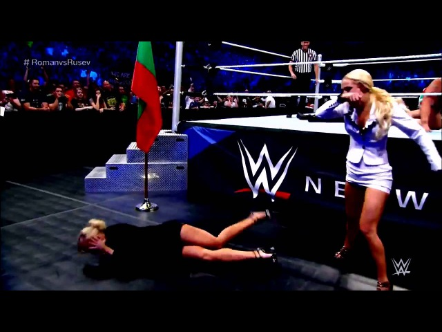 WWE SmackDown 06.08.2015: Rusev vs Roman Reigns - Hightlight by BOW