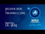 Repechage GR - 98 kg: D. TIMCHENKO (UKR) df. M. NIELSEN (NOR), 4-3