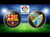 Барселона 1 - 0 Малага. Ла лига 2015/2016. 2-й тур. обзор матча