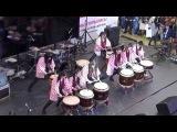 4 Выступление японских барабанщиц