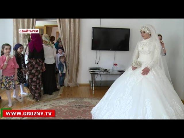 Свадьба тысячелетия состоялась. В ЗАГСе Грозного зарегистрирован брак Н.Гучигова и Л.Гойлабиевой