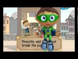 Супер том и грамотеи на русском - Пинокио (Pinocchio)