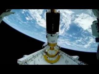 Нло - съёмка Земли и Луны из космоса.avi