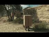 Новый геймплей Metal Gear Solid V The Phantom Pain - Снейк в коробке