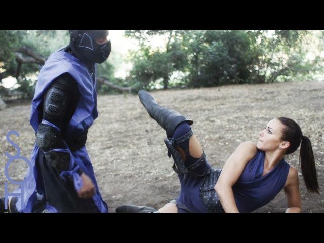 Sub Zero Scorpion Kitana Fight Mortal Kombat x SOH