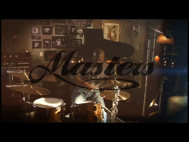 Gregory Hutchinson and the New Paiste Masters