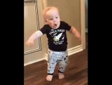 toddler funny face