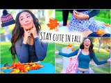 Cute and Warm Fall Outfit Ideas! How To Look Good While Staying Cozy!