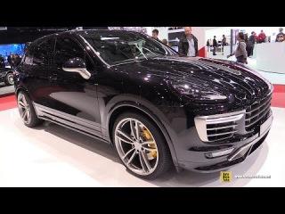 2015 Porsche Cayenne TechArt - Exterior and Interior Walkaround - 2015 Geneva Motor Show