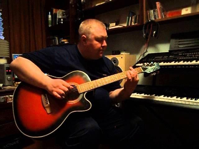 Дмитрий Кабанов - Song from a Secret Garden (кавер-гитара)