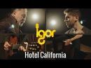 The Eagles - Hotеl Cаlifornia [OFFICIAL VIDEO] - guitar/cajon - Igor Slava Presnyakov
