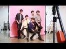 5urprise на съёмках интервью для Kyodo News
