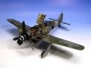 Fw-190 Focke-Wulf A-8/R2 Eduard 1:48 - German WW2 Aircraft Model