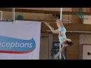 Отбор ЦФО Соревнований по Шестовой акробатике'15 Дзюндзяк Анастасия