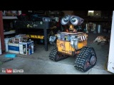 Making a Real Life-Size Wall-E Robot (Geek Week!)