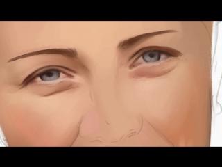 Процесс рисования портрета Digital Art от Art Style