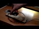 Металлоискатель по схеме Пират 1й запуск, не экранированная катушка 17 см, проводом 0.3 мм, питание 9В