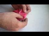 Видео урок как делать цветок из...