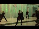 Танец команды Мигеля на новогоднем вечере.
